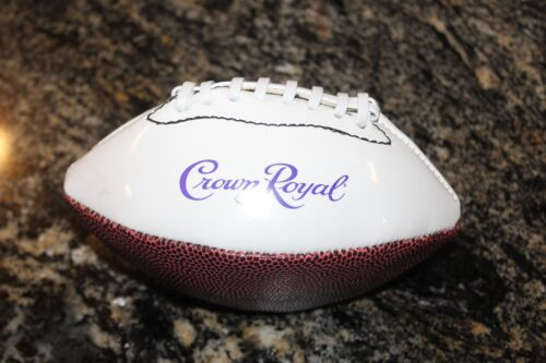 "VINTAGE CROWN ROYAL PROMOTIONAL 7"" FOOTBALL"