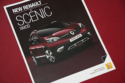 NEW Renault Scenic Xmod - Scarce French Pre Launch Brochure