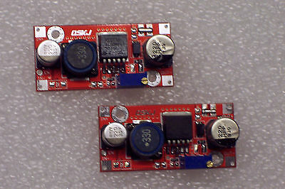 2 Pcs New Red Xl6009 Dc-dc Adjustable Step-up Power Module Replaces Lm2577