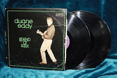 "Duane Eddy - ""Legend of Rock - Double Album""  L.P."