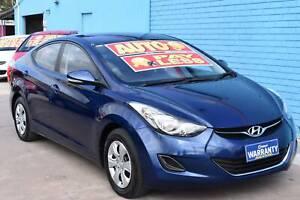 2012 Hyundai Elantra MD Active Sedan 4dr Spts Auto 6sp 1.8i Enfield Port Adelaide Area Preview