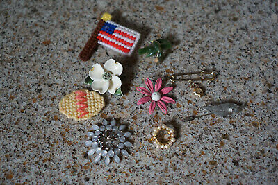 Women's Vintage Brooches - for craft or repair