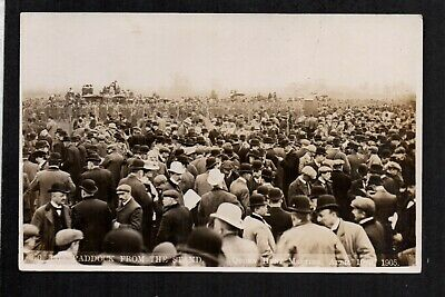 Quorn - Hunt Meeting, Paddock from the Stand 1905 - real photographic...