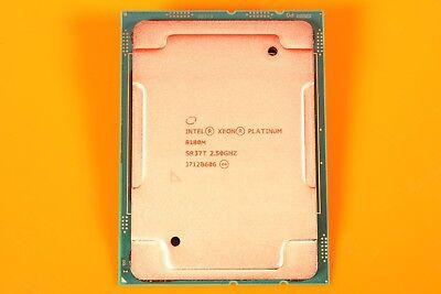 INTEL XEON PLATINUM 8180M CPU PROCESSOR 28 CORE 2.50GHZ 38.5MB CACHE 205W SR37T