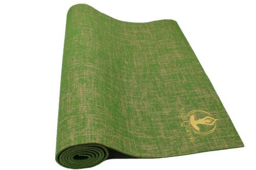 Jute Yoga Mat - Green