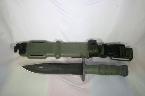 M9 Knife Bayonet Ontario USA Military USMC Issue Wire Cutter Tactical New