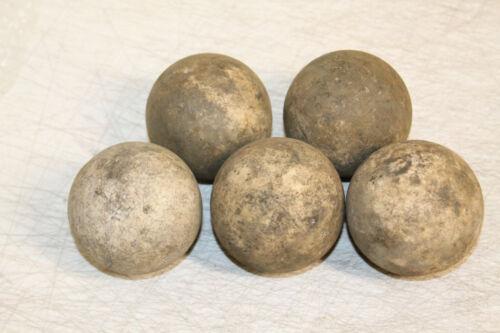 5 Limestone Sandstone Water Filtration Balls Stones Chattahoochee River Gems