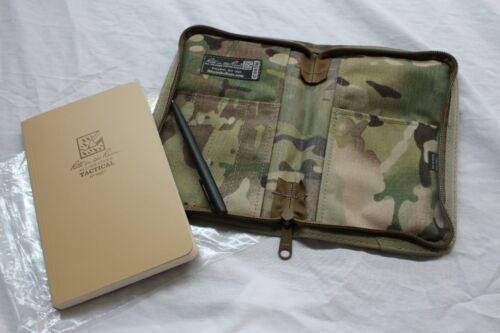 RITE IN THE RAIN 980 KIT ALL WEATHER 5X7 NOTEBOOK, PEN & CARRYING CASE MULTICAM
