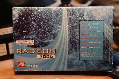 Carte VGA ATI-RADEON 7000 AGP 2X - 4X 64Mb Dual VGA + TV-Out
