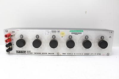 Transcat 7010t Resistance Temperature Detector Simulator