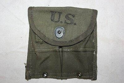 1 US Military Issue GI WW2 AVERY 1945 M1 Carbine Garand Magazine Pouch NOS for sale  Wilmington