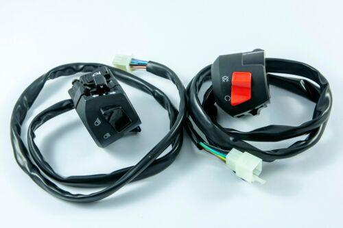 Lexmoto Adrenaline 125 Right side & Left side handlebar switch gears clusters