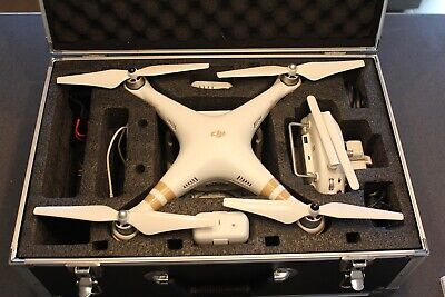 DJI Phantom 3 Professional Quadcopter 4K Camera With Carrying Case