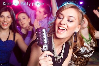 The Ultimate Karaoke Party player for  laptop or PC ,40,000 songs on a  DVD disk