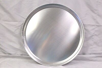 1 16 Pizza Serving Tray - Pan - Aluminum - Wide Rim Tray Server Cutting