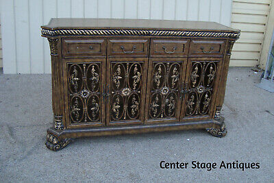 57078 Decorator Buffet Server Cabinet Chest Entertainment Television Stand
