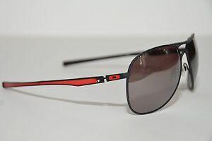 NEW Oakley Plaintiff POLARIZED Sunglasses Matte Black w/00 Black Iridium 405707