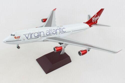Gemini Jets G2VIR766 Virgin Atlantic Boeing 747-400 G-VBIG Diecast 1/200 Model