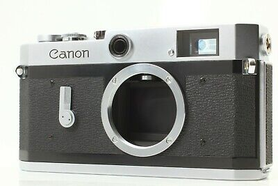 Ship by FedEx【NEAR MINT】 Canon P Rangefinder 35mm Film Camera From JAPAN #F112