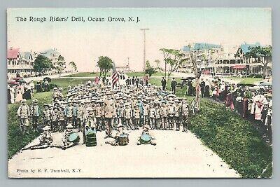 Rough Riders Kids OCEAN GROVE New Jersey Shore—Antique Handcolored Americana (Jersey Shore Kids)