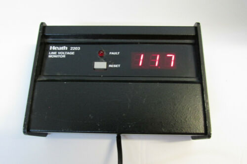 Heathkit IM-2203 line voltage monitor
