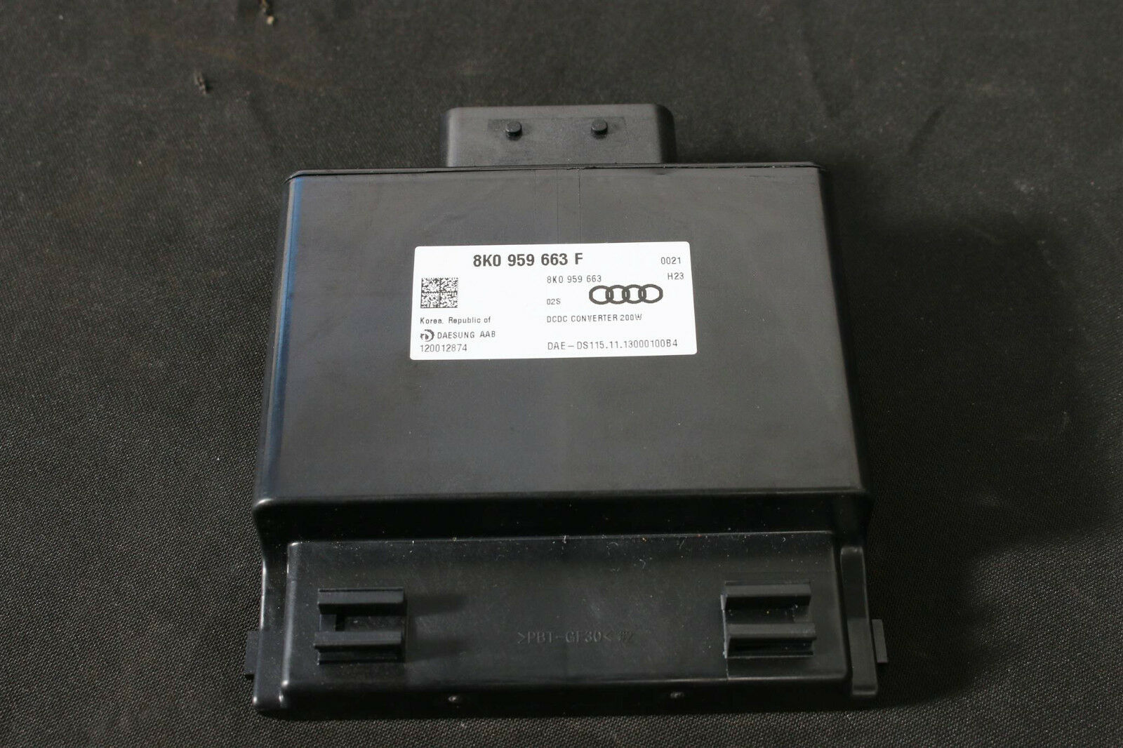 Audi A6 A7 4G A4 A5 Skoda Fabia Roomster Spannungsstabilisator 8K0959663F 200W