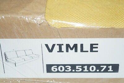 IKEA Bezug für 3-er Sofa VIMLE Sitzelement ORRSTA goldgelb Sofabezug 603.510.71