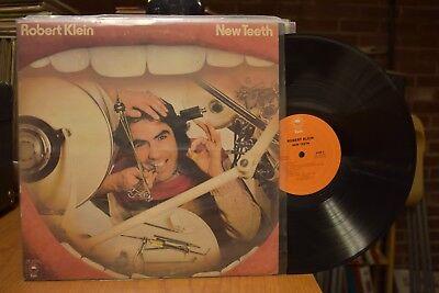Robert Klein New Teeth Lp Epic Pe 33535 Stereo