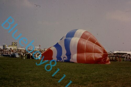 Esso Balloon early fill Lincolnshire Show 1970