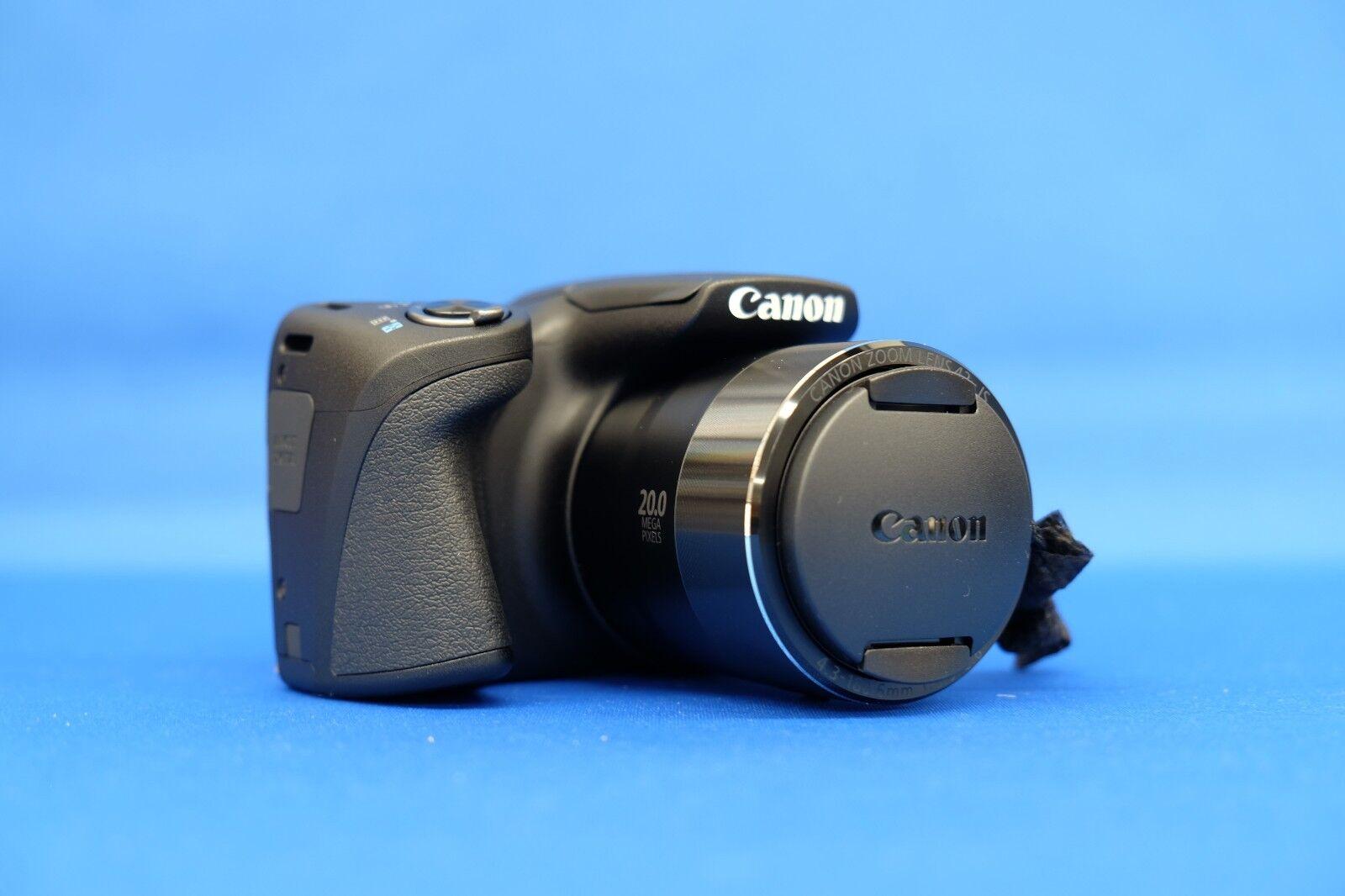 как выглядит Фотоаппарат CANON PowerShot SX420 IS Black 20MP Digital Camera Japan Domestic Version New фото