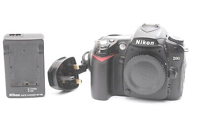 Nikon D90 12.3MP DSLR Camera - Black (Body Only) ***30,531 shots***