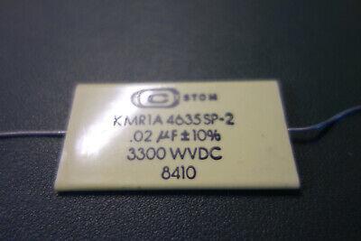 Custom .02 Uf 3300v 10 Mylar High Voltage Capacitor Tesla Coil