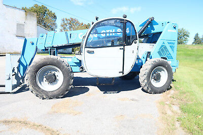 2012 Genie Gth844 Forklift 8000 Telehandler Only 2205 Actual Hours Jlg
