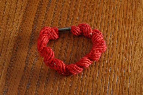 Navajo Hand Made Wool Yarn Indian Circlet Bracelet Wrist Band Native American