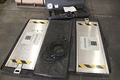 Set Of Ird Dynamics Wim Mat Sensor 480145 8000 Motion Vehicle Scale  Software