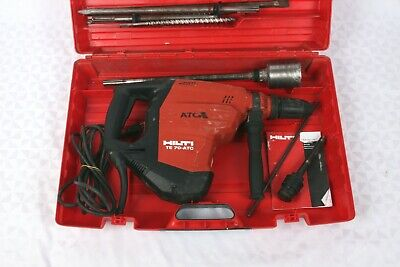 Hilti Te 70-atcavr Electric Rotary Hammer With Drill Bits