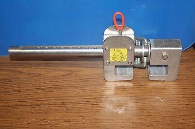 Miller Falls Protection Shadow Adjustabl Beam Clamp Anchor 8814-12