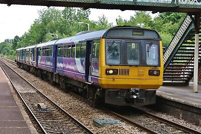 142001+150273 Northern Rail 6x4 Quality British Rail Photo