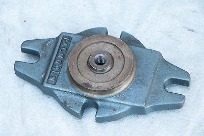 Palmgren 5025-4b Vise Swivel Base For Milling Machine Mill 3dfg 360 Rotation