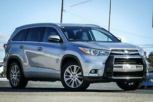 2014 Toyota Kluger GSU55R Grande AWD Silver 6 Speed Sports Automatic Wagon Greenacre Bankstown Area Preview