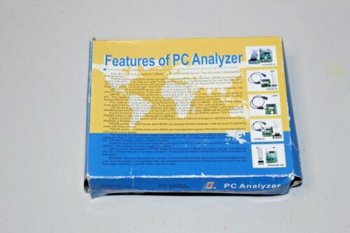 PC Analyzer Stability Test MKQCP6A-V3 PCI Diagnostic Card with LCD Display