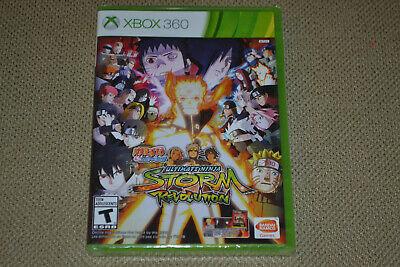 Naruto Shippuden: Ultimate Ninja Storm Revolution (Xbox 360) Brand New Fast Ship comprar usado  Enviando para Brazil