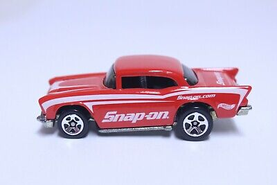 HOT WHEELS '57 CHEVY BEL AIR VERY NICE SNAP-ON TOOLS PROMO
