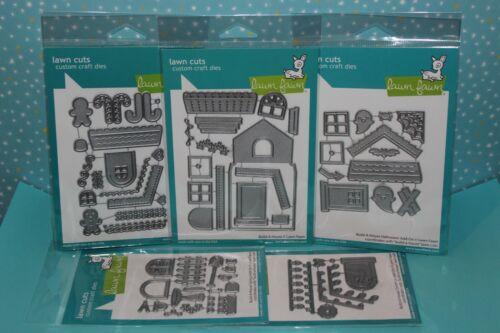Lawn Fawn Build-A-House Dies Or Build-A-House Add-On Dies (Choices)