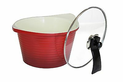 CONCORD Ceramic Non Stick Eco Friendly Dutch Oven Casserole Pot Cookware