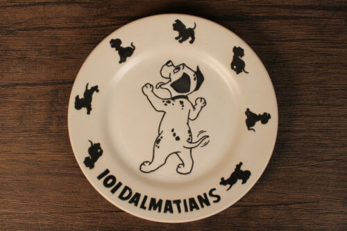 1998 Disney Sega 101 Dalmatians Plate White