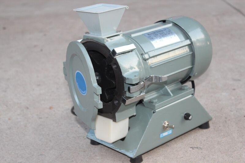 New 250W Micro-soil Disintegrator Crusher Pulverizer 220V 1400rpm