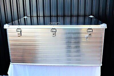 Transportkiste Transportbox Alukiste Aufbewahrungskiste Aluminium Box ALU415 Neu