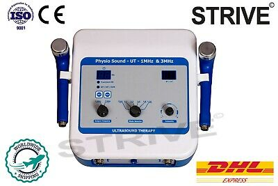 Digital Ultrasound Therapy Machine Pulse Cont. Massager 1 3mhz Physiotherapy