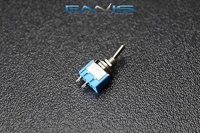 Toggle Switch Spst On Off Mini Toggle 3 Amp 250v 6 Amp 125v 2 Pin Ec-2510